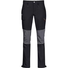 Bergans Nordmarka Hybrid Pants Women black/solid dark grey